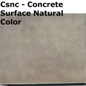 colori disponibili csnc concrete surface natural color